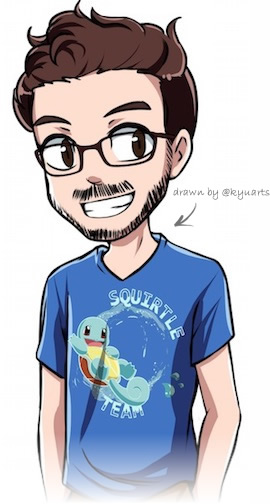 My Squirtle t-shirt (drawn by Kyuu)